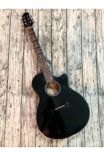 Guitar Acoustic  E65BLack ( Có Ty )