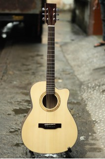 Guitar  HD16 ( dáng lakewood )